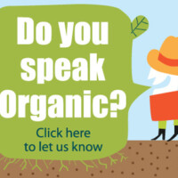 "Do you speak ""Organic""?"